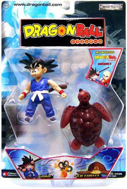 Dragon Ball Goku & Sea Turtle Action Figure 2-Pack