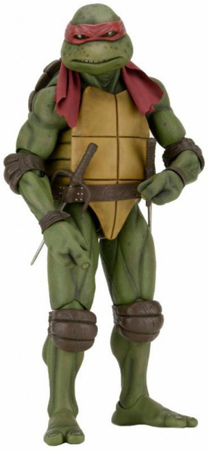NECA Teenage Mutant Ninja Turtles Quarter Scale Raphael Action Figure [1990 Movie] (Pre-Order ships May)