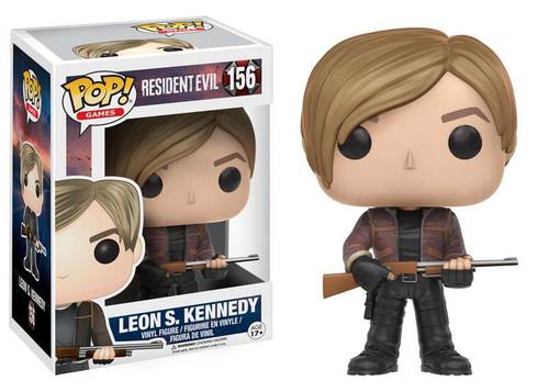Funko Resident Evil POP! Games Leon Kennedy Vinyl Figure #156