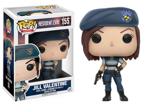 Funko Resident Evil POP! Games Jill Valentine Vinyl Figure #155