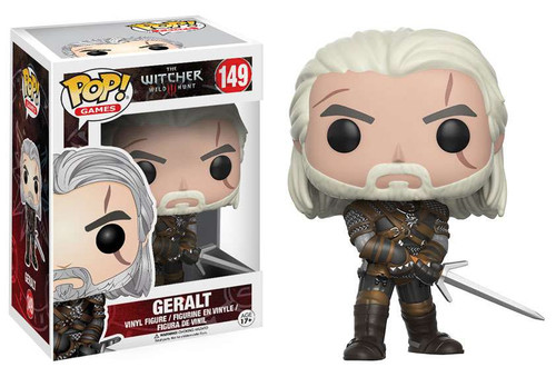 Funko The Witcher 3: Wild Hunt POP! Games Geralt Vinyl Figure #149