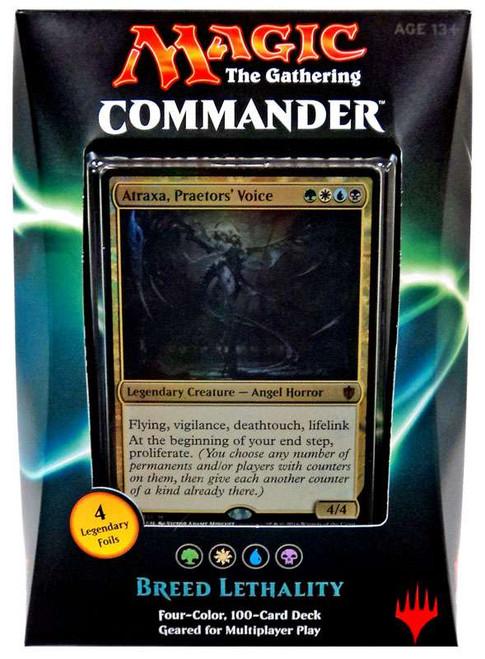 MtG Trading Card Game 2016 Commander Breed Lethality Deck