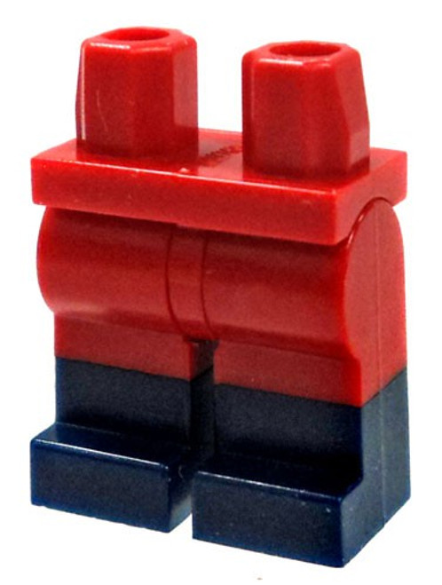 LEGO Red Legs with Dark Blue Boots Loose Legs [Dual Color Loose]