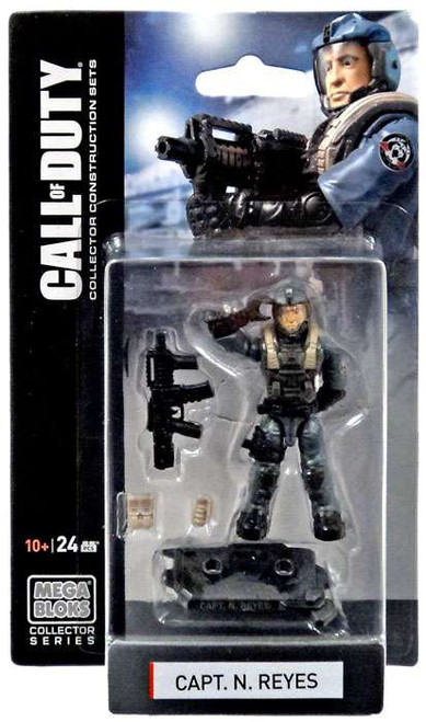 Mega Bloks Call of Duty Capt. N. Reyes Mini Figure Set #77382