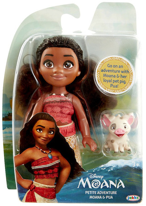 Disney Moana Petite Adventure Moana & Pua Exclusive Action Figure