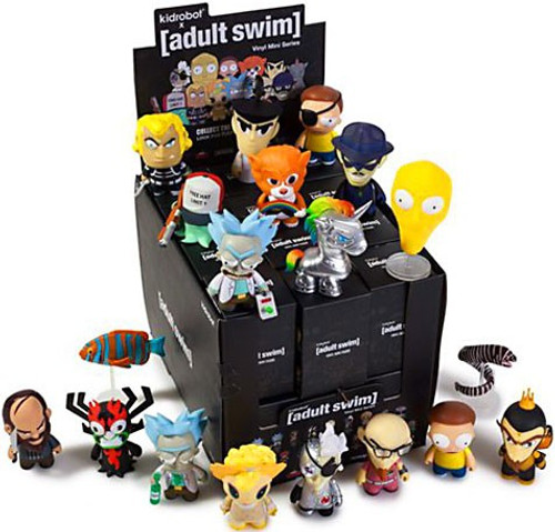 Vinyl Mini Figure Adult Swim Series 1 3-Inch Mystery Box [24 Packs]
