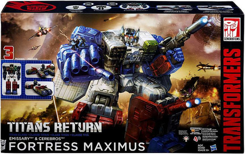 Transformers Generations Titans Return Fortress Maximus Titan Action Figure [Damaged Package]