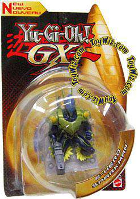 YuGiOh GX Trading Card Game 3-Inch Figures Sparkman Action Figure
