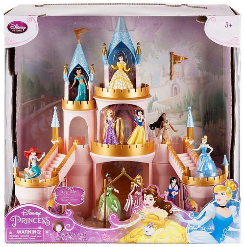 Disney Princess Princess Magical Light Up Castle Exclusive Playset