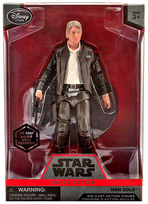 Disney Star Wars The Force Awakens Elite Han Solo Exclusive 6.5-Inch Diecast Figure