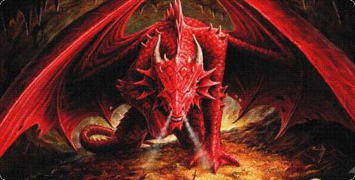 Card Supplies Dragon's Hoard Play Mat