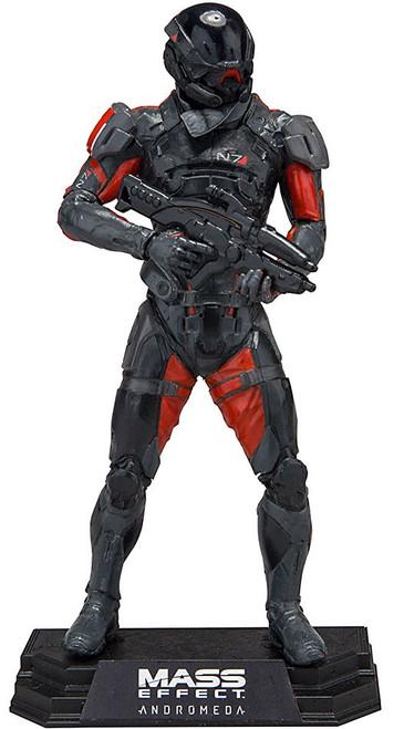 McFarlane Toys Mass Effect Andromeda Color Tops Green Wave Scott Ryder Action Figure #21