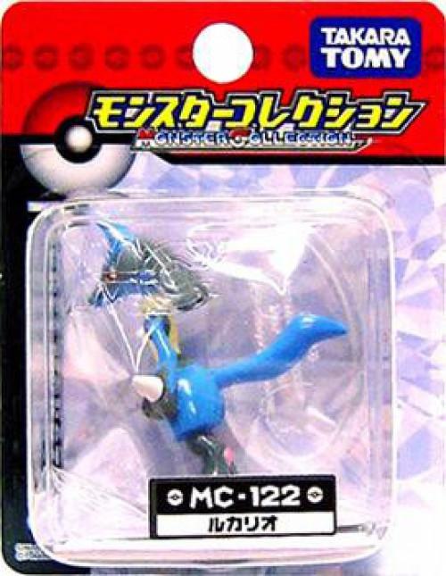 Pokemon Diamond & Pearl Monster Collection Lucario PVC Figure MC-122 [Japanese]