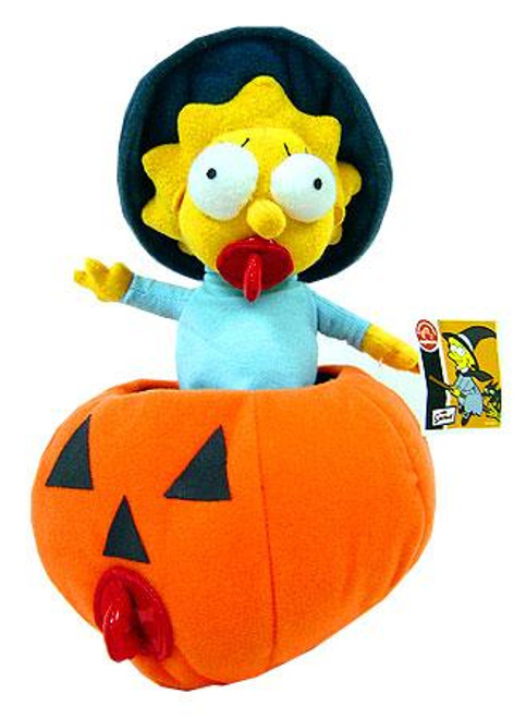 The Simpsons Maggie Simpson 6-Inch Plush Figure [In Pumpkin]