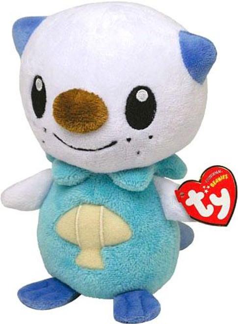 Pokemon Beanie Baby Oshawott 6-Inch Plush