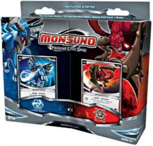 Monsuno Trading Card Game Core-Tech vs. Eklipse 2-Player Starter Deck