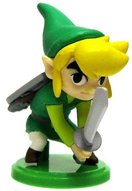 The Legend of Zelda Spirit Tracks 2 Furuta Choco Egg Link 1.5-Inch PVC Figure [Sword]