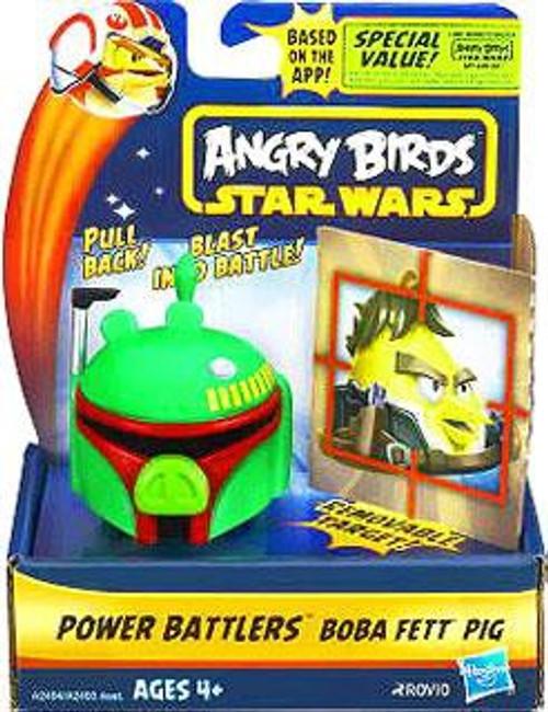 Star Wars Angry Birds Power Battlers Boba Fett Pig