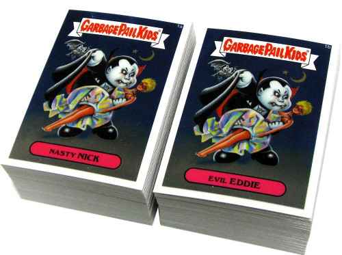 Garbage Pail Kids Topps 2013 Chrome Trading Card Sticker Set [110 Cards]
