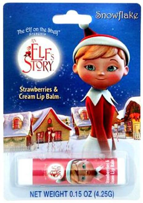 The Elf on the Shelf Snowflake's Strawberries & Cream Lip Balm