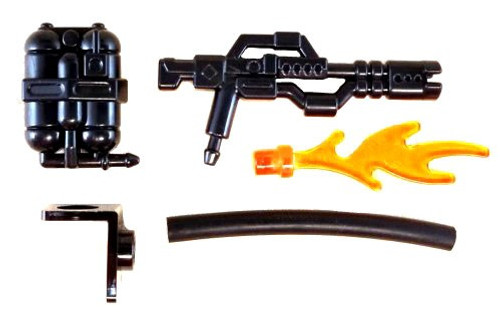 BrickArms D93 Incinerator Flamethrower 2.5-Inch Minifigure Accessories