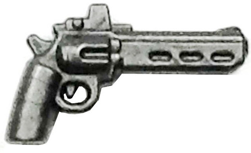 BrickArms Radi8 .44 RMR 2.5-Inch Minifigure Accessories [Rail Mounted Reflex Sight Silver Loose]