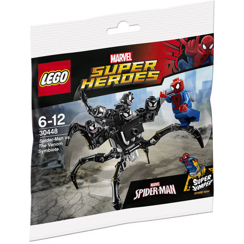 LEGO Marvel Super Heroes Ultimate Spider-Man Spider-Man VS. The Venom Symbiote Set #30448 [Bagged]