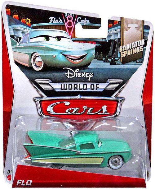 Disney / Pixar Cars The World of Cars Flo Diecast Car #12