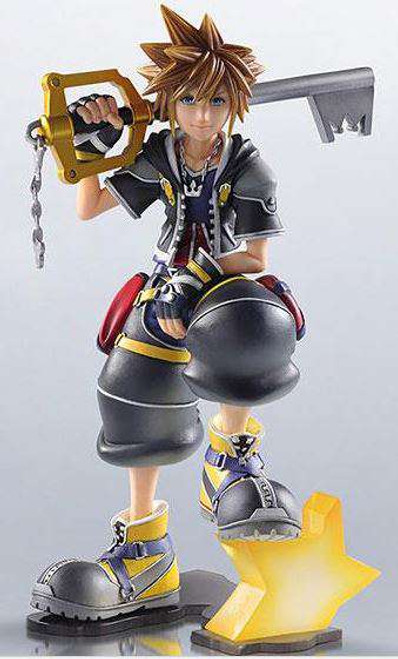 Disney Kingdom Hearts II Static Arts Sora 6-Inch Gallery Vinyl Figure