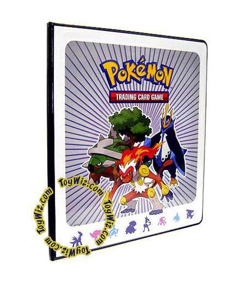 Pokemon Trading Card Game Diamond & Pearl Infernape, Torterra & Empoleon 4-Pocket Binder
