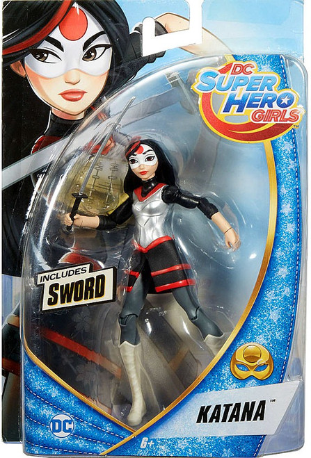 DC Super Hero Girls Katana Action Figure