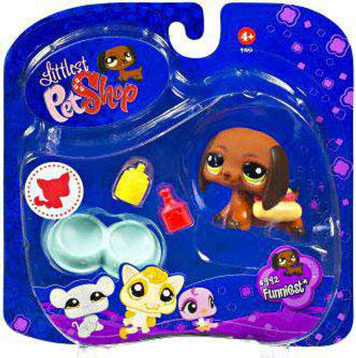 Littlest Pet Shop 2009 Assortment A Series 3 Dachshund Figure