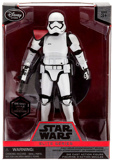 Disney Star Wars The Force Awakens Elite First Order Stormtrooper Officer Exclusive 6.5-Inch Diecast Figure