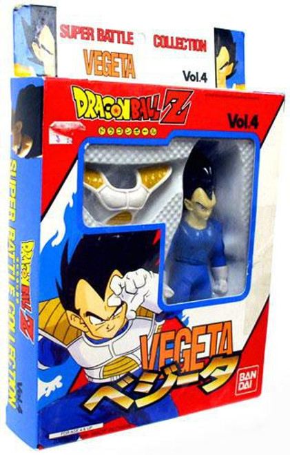 Dragon Ball Z Super Battle Collection Vegeta Action Figure [Vol. 4]