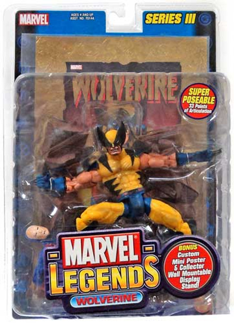 Marvel Legends Series 3 Wolverine Action Figure [Gold Foil Poster]