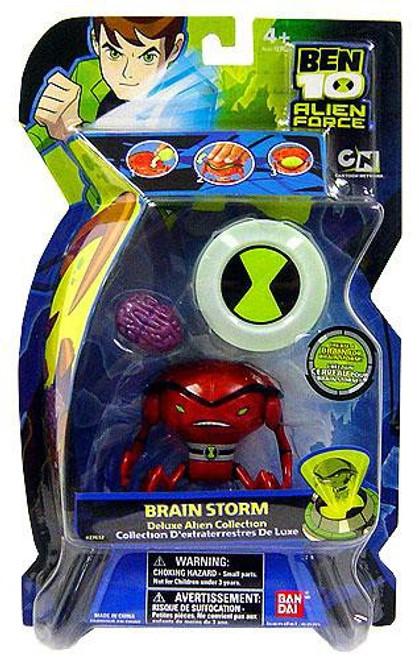 Ben 10 Alien Force Deluxe Alien Collection Brainstorm Action Figure [Loose]