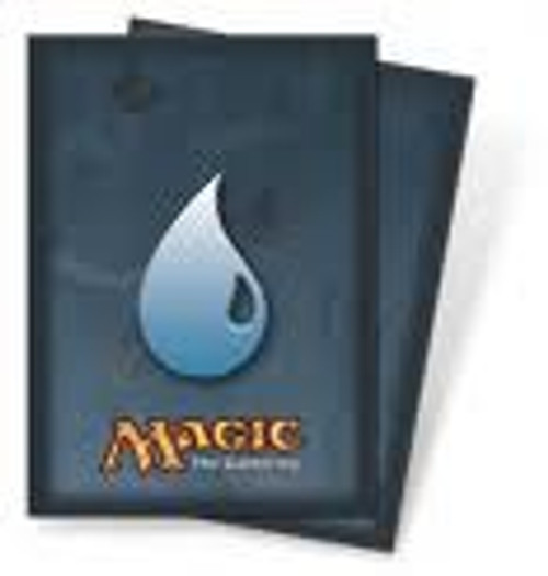 Ultra Pro MtG Card Supplies Blue Mana Symbol Standard Card Sleeves [80 Count]