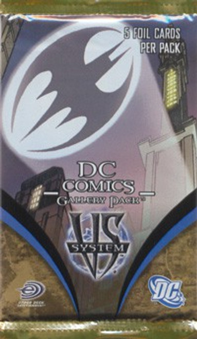 DC VS System Trading Card Game Gallery Booster Pack [5 Cards]