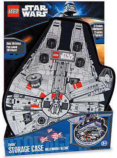 Star Wars LEGO ZipBin Millennium Falcon Storage Case