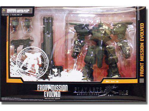 Front Mission Evolved Play Arts Kai Vol. 2 Enyo Action Figure