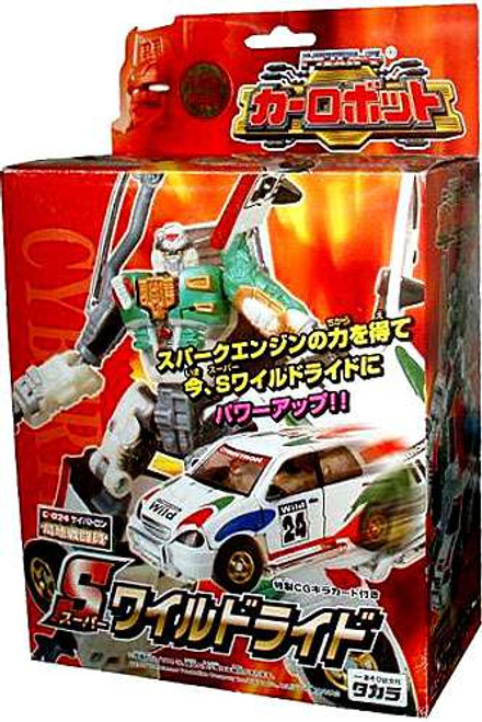 Transformers Japanese Robo Power Activators X-Brawn Action Figure C-024 [Wildride, Damaged Package]