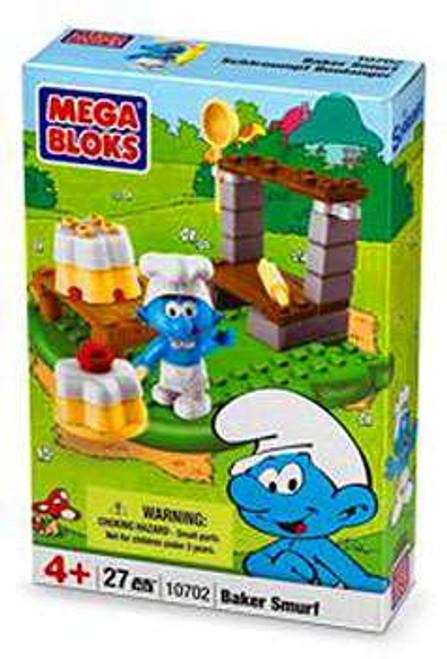 Mega Bloks The Smurfs Baker Smurf Set #10702