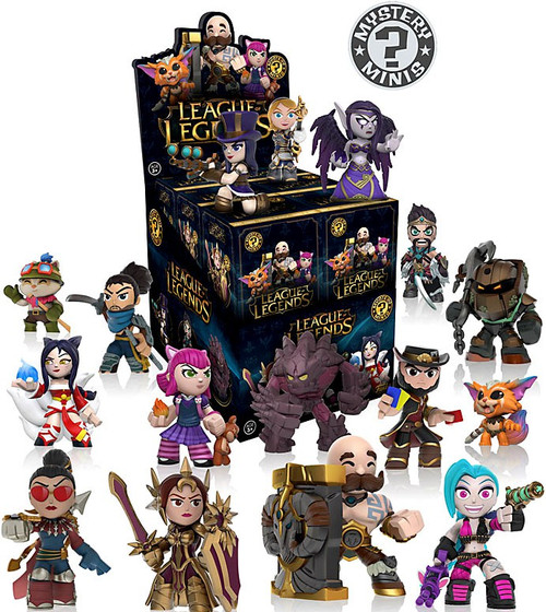 Funko Mystery Minis League of Legends Mystery Box [12 Packs]