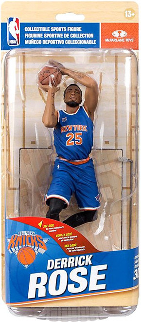 McFarlane Toys NBA New York Knicks Sports Picks Series 30 Derrick Rose Action Figure