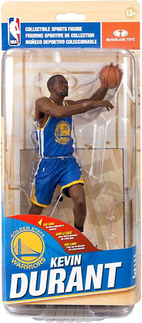 McFarlane Toys NBA Golden State Warriors Sports Picks Series 30 Kevin Durant Action Figure [Blue Uniform]