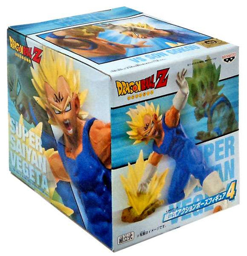Dragon Ball Z Super Saiyan Vegeta 5-Inch PVC Statue [Punch]