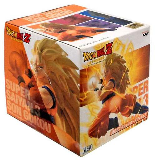 Dragon Ball Z Super Saiyan 3 Son Gokou 5-Inch PVC Statue