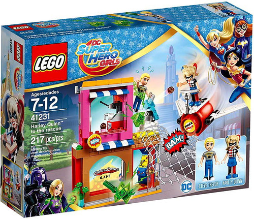 LEGO DC Super Hero Girls Harley Quinn to the Rescue Set #41231