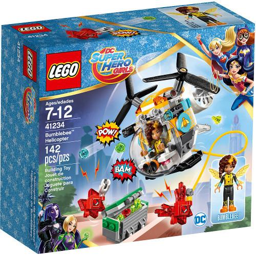 LEGO DC Super Hero Girls Bumblebee Helicopter Set #41234