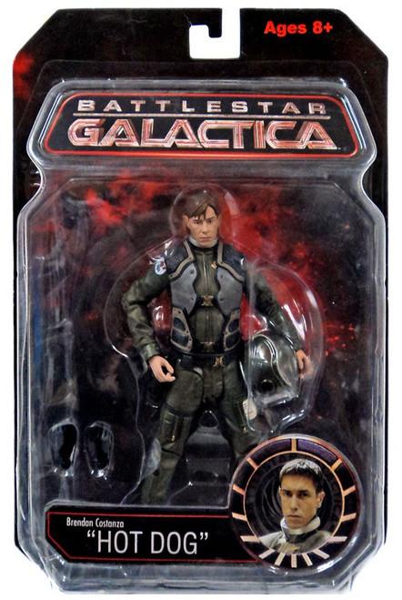 Battlestar Galactica Series 1 Brendan Costanza Action Figure [Hot Dog]